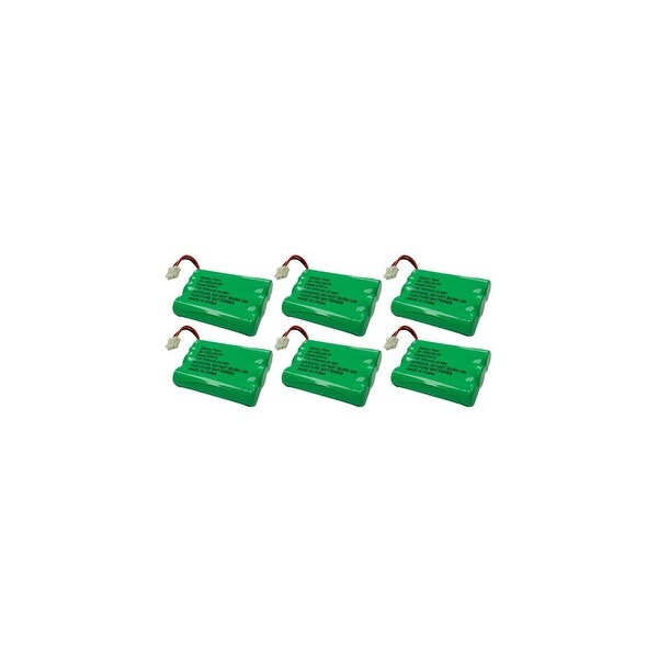 Replacement Battery For VTech DS4122-3 Cordless Phones - 27910 (600mAh, 3.6V, NiMH) - 6 Pack