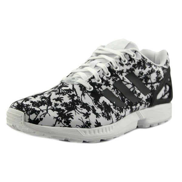 Adidas ZX Flux Women Round Toe Synthetic White Sneakers