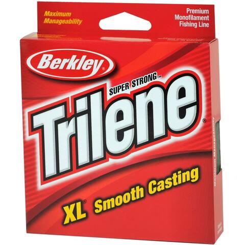Berkley Trilene XL Smooth Casting Fishing Line (110 yds) -Fluorescent Clear/Blue