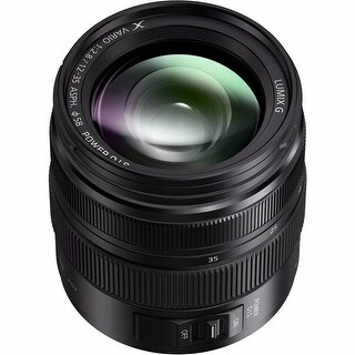 Panasonic Lumix G X Vario 12-35mm f/2.8 II ASPH. POWER O.I.S. Lens - Black