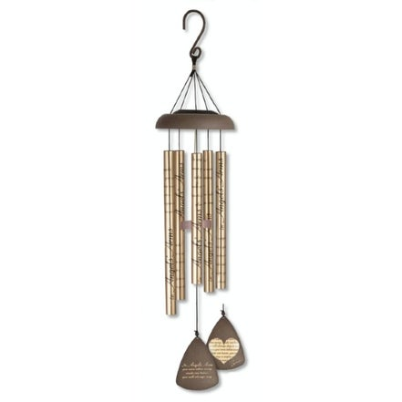 """30"""" Sonnet Sounds """"Angels Arms"""" Solar LED Lighted Outdoor Wind Chimes - N/A"""