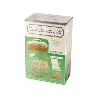 Bulk Buys OD914-4 Cake Decorating Kit With Caddy