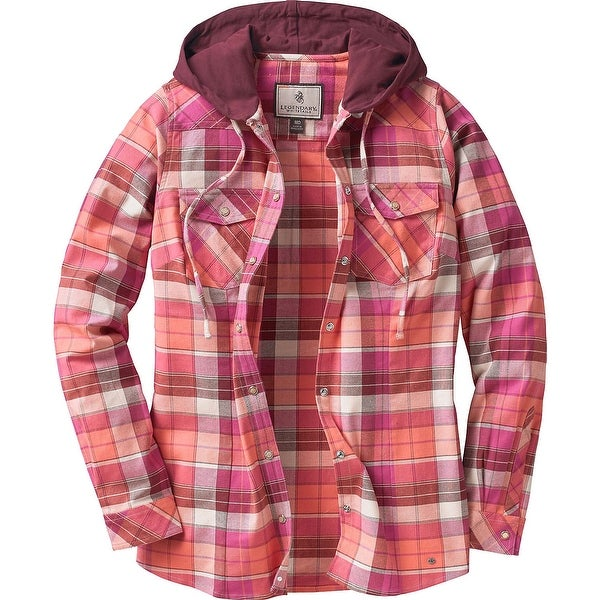 Legendary Whitetails Ladies Lumber Jane Hooded Flannel