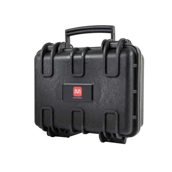 "Monoprice Weatherproof Hard Case with Customizable Foam, 12"" x 10"" x 6"""