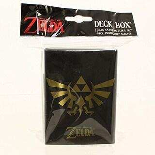 The Legend of Zelda Deck Box - Black & Gold