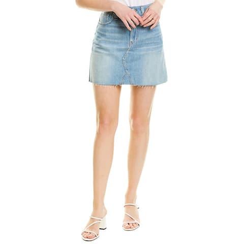 Madewell Rigid Denim Mini Skirt