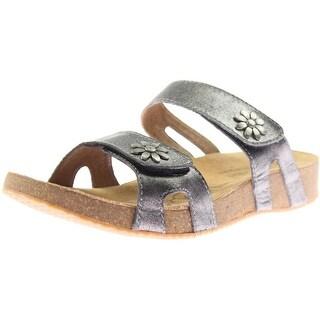 Josef Seibel Womens Tonga Leather Embellished Dress Sandals - 42 medium (b,m)