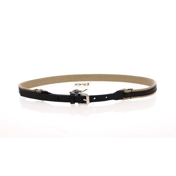 Dolce & Gabbana Dolce & Gabbana Black Leather Logo Belt - 100-cm-40-inches
