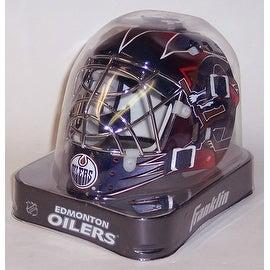 Edmonton Oilers Franklin Sports NHL Mini Goalie Mask