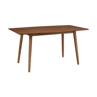 """Offex 60"""" Wood Mid Century Kitchen Dining Table - Brown - N/A"""