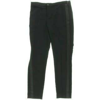 Lauren Ralph Lauren Womens Tuxedo Pant Crepe Skinny