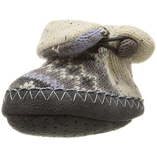 Muk Luks Bootie Slippers Infant Printed - 6-12 mo