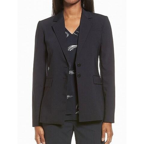 Classiques Entier Women's Two-Button Blazer Wool