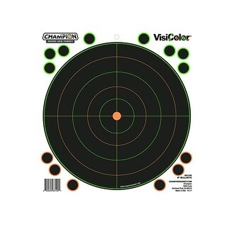 Champion Traps & Targets 8 in. Peel & Stick Targets Bullseyes with