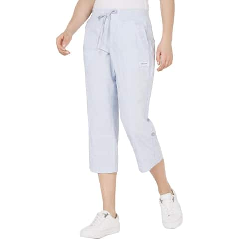 Calvin Klein Performance Womens Capri Pants Cargo Fitness