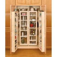 "Rev-A-Shelf 4WP18-51-KIT 4WP Series 51"" Tall Swing Out Pantry Cabinet Organizer Set with Hardware - N/A"