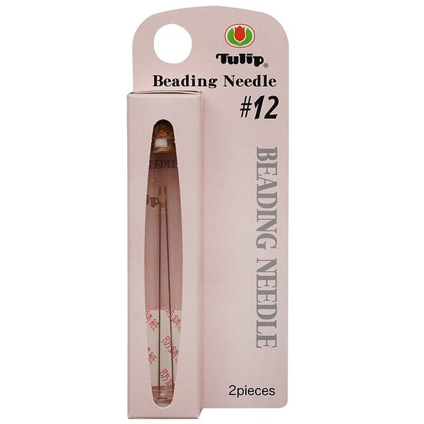 Tulip Beading Needles Size 12 47.5x0.35mm - 2 Pack
