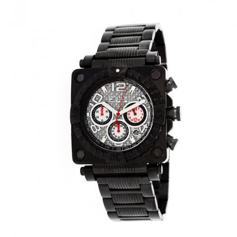 Equipe Gasket Men's Quartz Chronograph Watch, Stainless Steel Band, Luminous Hands