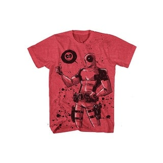 Deadpool, Dead Thumb Mens Lightweight Tee