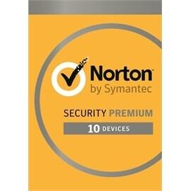 Symantec 21353947 Norton Security Premium 3.0 25GB EN 1User 10Devices 12MO Card MM Retail