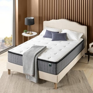 "Link to Priage by ZINUS 12"" Cool Touch Comfort Gel-Infused Hybrid Mattress Similar Items in Bedroom Furniture"