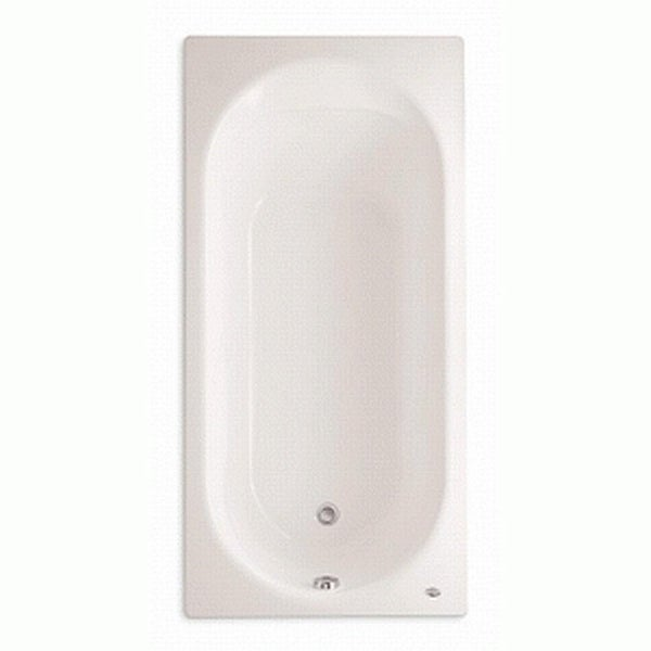 "American Standard 2470.002 Stratford 66"" Americast Soaking Bathtub with Reversible Drain - Lifetime Warranty - White"