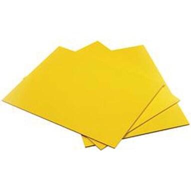 "Yellow - Bubbalux Ultimate Creative Craft Board 8.5""X11"" 3/Pkg"