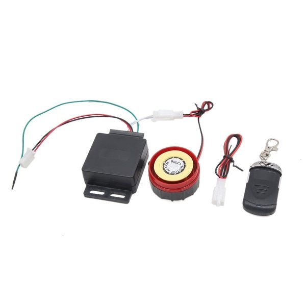 9-16V 315MHz Remote Control Anti-theft Alarm Security System for Motorcycle