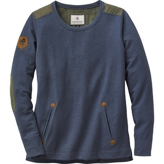 Legendary Whitetails Ladies Journeys End Pullover - Navy Heather