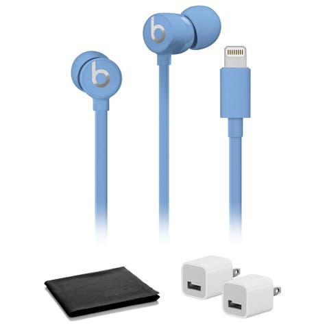 Beats by Dr. Dre urBeats3 In-Ear Headphones (Blue) with USB Adapter