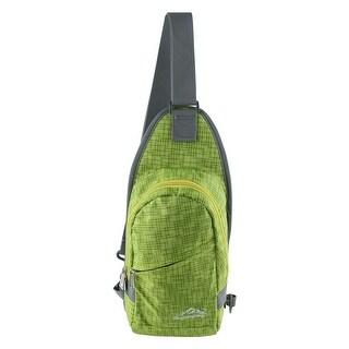 Unique Bargains HWJIANFENG Authorized Climbing Nylon Trekking Military Hiking Backpack Bag Green