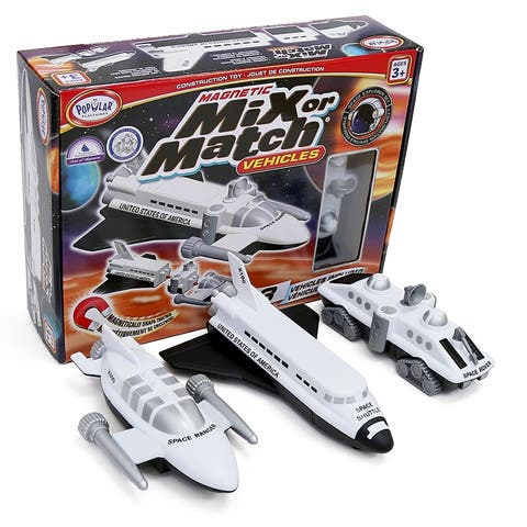 Magnetic Vehicles Space Mix Or Match