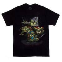 Teenage Mutant Ninja Turtles Attack Black T-Shirt