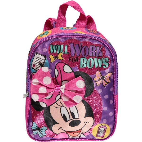 d82800020f1 Shop Disney Girls  Minnie Mouse Mini Backpack - Free Shipping On Orders Over   45 - Overstock - 20487451