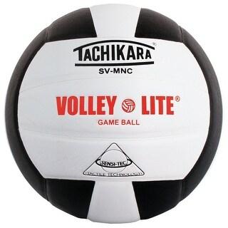 Tachikara Volley-Lite Training Volleyball (Black/White)