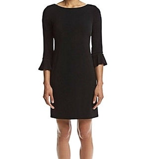 Jessica Howard Petite Bell Sleeve Sheath Dress - 4P