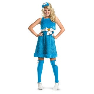 Disguise Sesame Cookie Monster Sassy Adult Costume - Blue (3 options available)