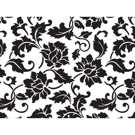 shop pack of 100 5 x 3 x 11 floral brocade classic print cello