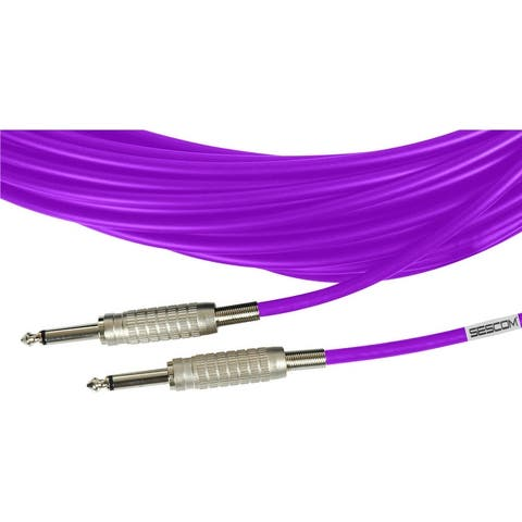 Sescom MSC15SS Audio Cable Mogami 1/4 Inch TS Male to Male