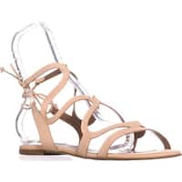 Steve Madden Cece Lace Up Gladiator Sandals, Nude
