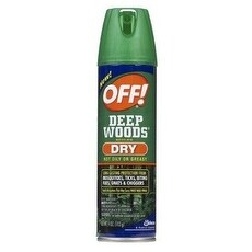 Off 71765 Deep Woods Dry Insect Repellent, 4 Oz
