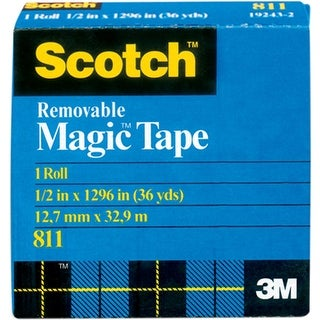 "Scotch (R) Removable Tape .50""X36yd-"