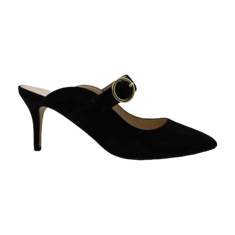 Adrienne Vittadini Womens Foy Suede Pointed Toe Mules - 8