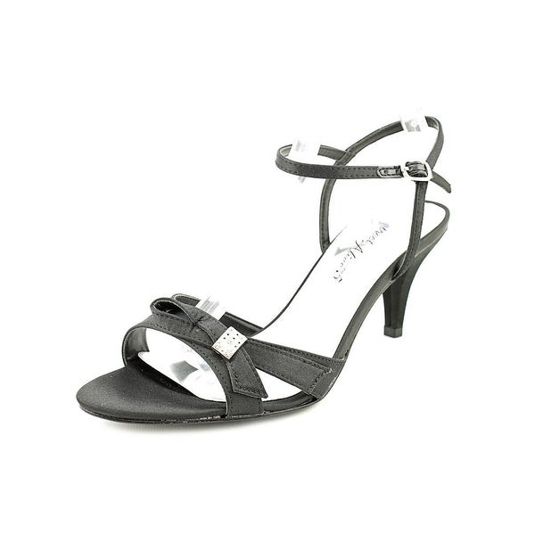 Easy Street Starlet Women Open Toe Synthetic Black Sandals