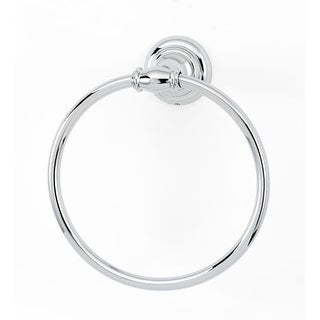 Alno A6740 6 Inch Diameter Towel Ring from the Charlie Collection