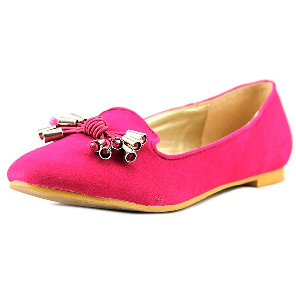 a.x.n.y. Gator-90 Women Round Toe Synthetic Pink Ballet Flats
