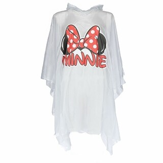 Disney Kid's Minnie Mouse Ears Rain Poncho - CLEAR - One size