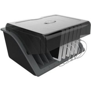Tripp Lite 10-Device Ac Desktop Charging Station Locking W Surge Protection For Tablets, Laptops, E-Readers (Csd1006ac)