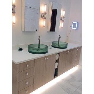 GlideRite Round White Ceramic Cabinet or Dresser Knobs (Pack of 25)