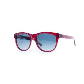 Saint Laurent Womens Classic 3 ON7 Red Transparent Sunglasses